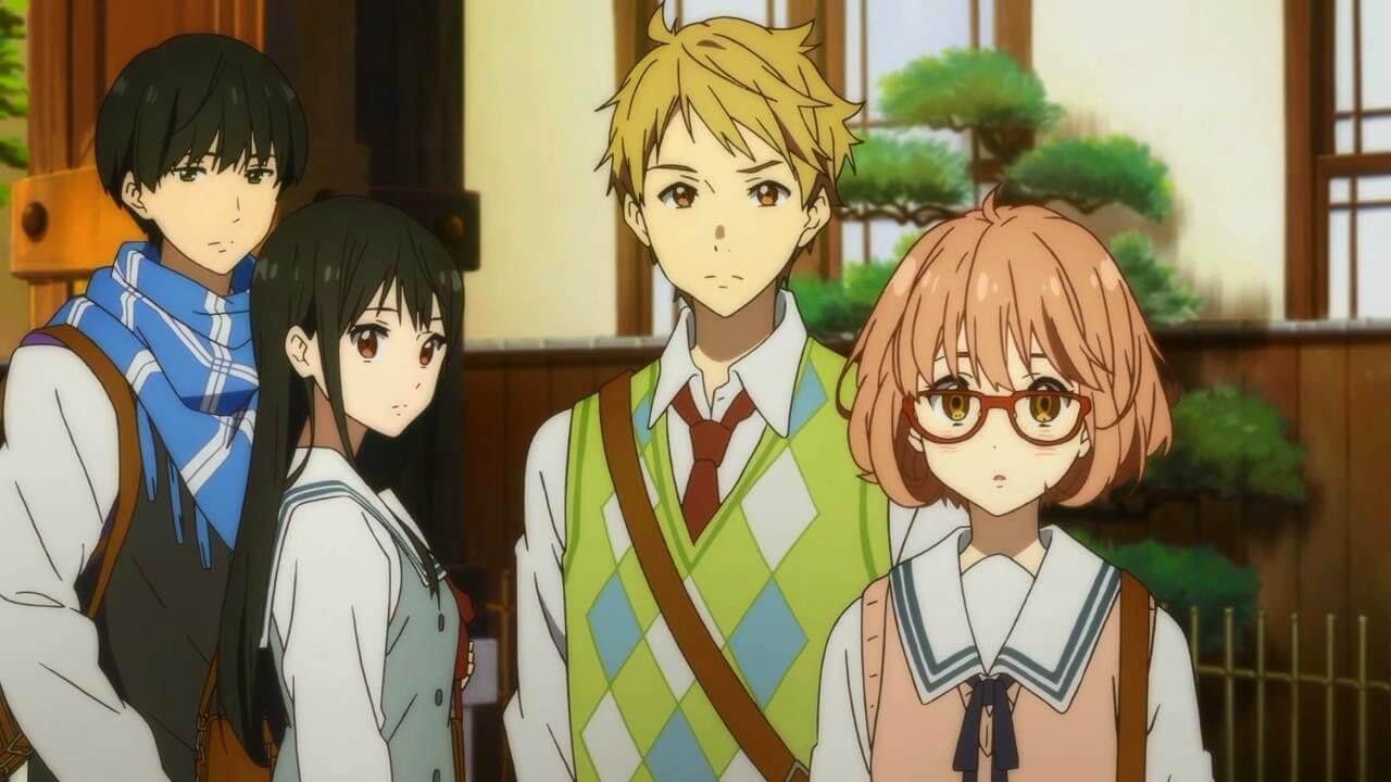 Fotograma del anime Kyoukai no Kanata