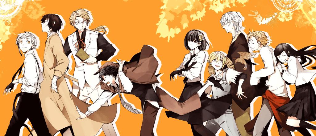 Anime Bungou Stray Dogs