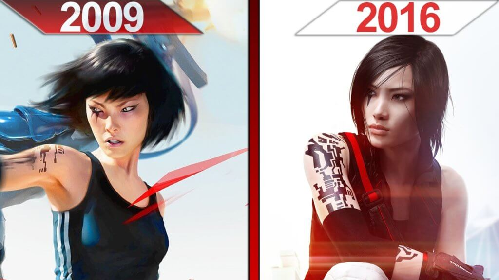 Mirror's Edge vs Miror's Edge Catalyst