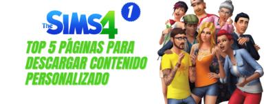 Top 5 páginas para descargar CC Los Sims 4 Parte 1 fotopixel