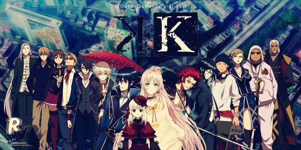 k project personajes