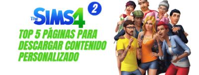 Top 5 paginas CC Los Sims 4 Parte 2