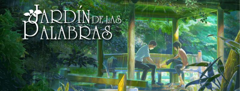 El Jardin de las Palabras Cover Portada