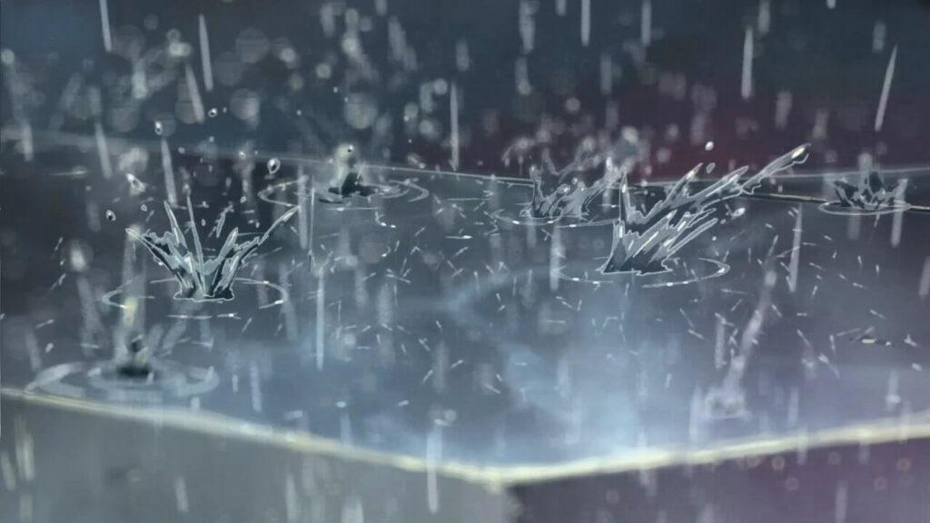lluvia el jardin de las palabras