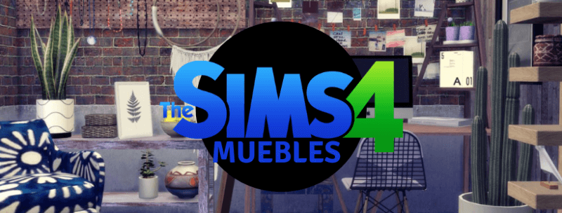 Sims 4 Muebles