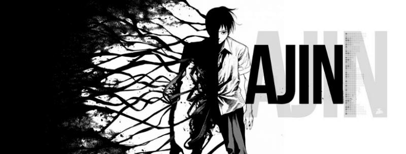 Portada Ajin: Semihumano en 15 Animes Para Ver Durante la Cuarentena