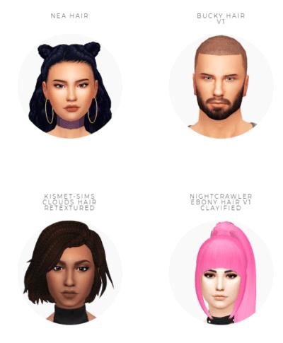 Lo más universal contenido personalizado sims 4 peinados Fotos de las tendencias de color de pelo - Sims 4 cc Peinados Contenido Personalizado   Fotopixel