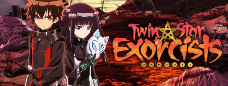TWIN STAR EXORCISTS ANIME HEADER