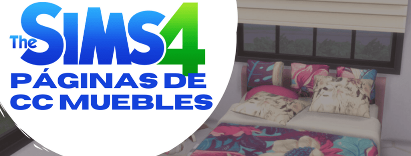 los sims 4 cc muebles portada