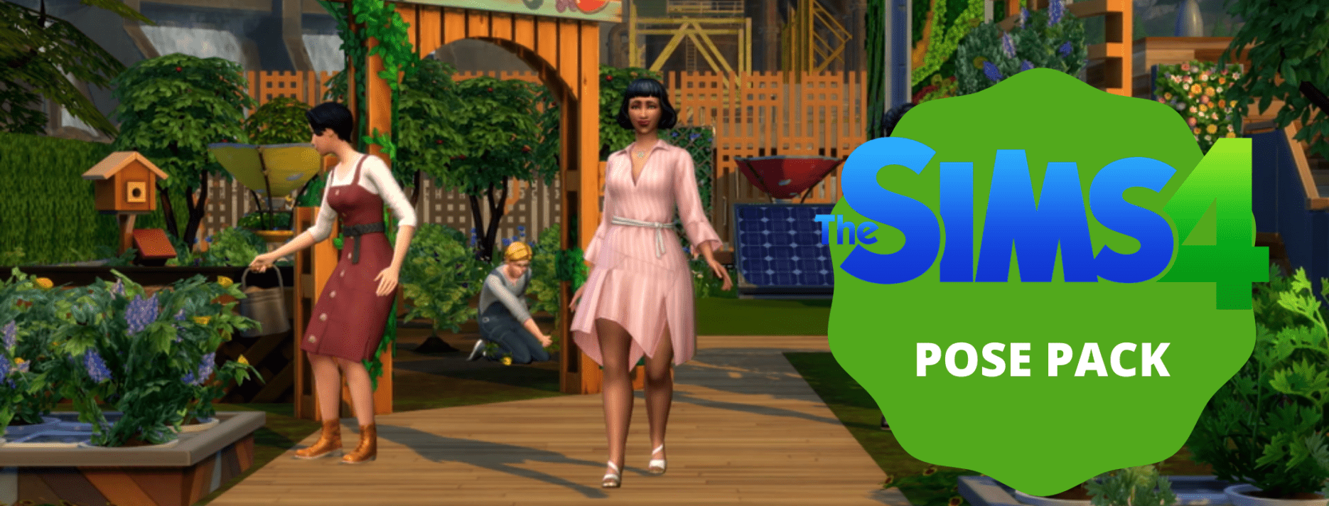 sims 4 POSE PACK header