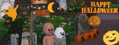 halloween sims 4