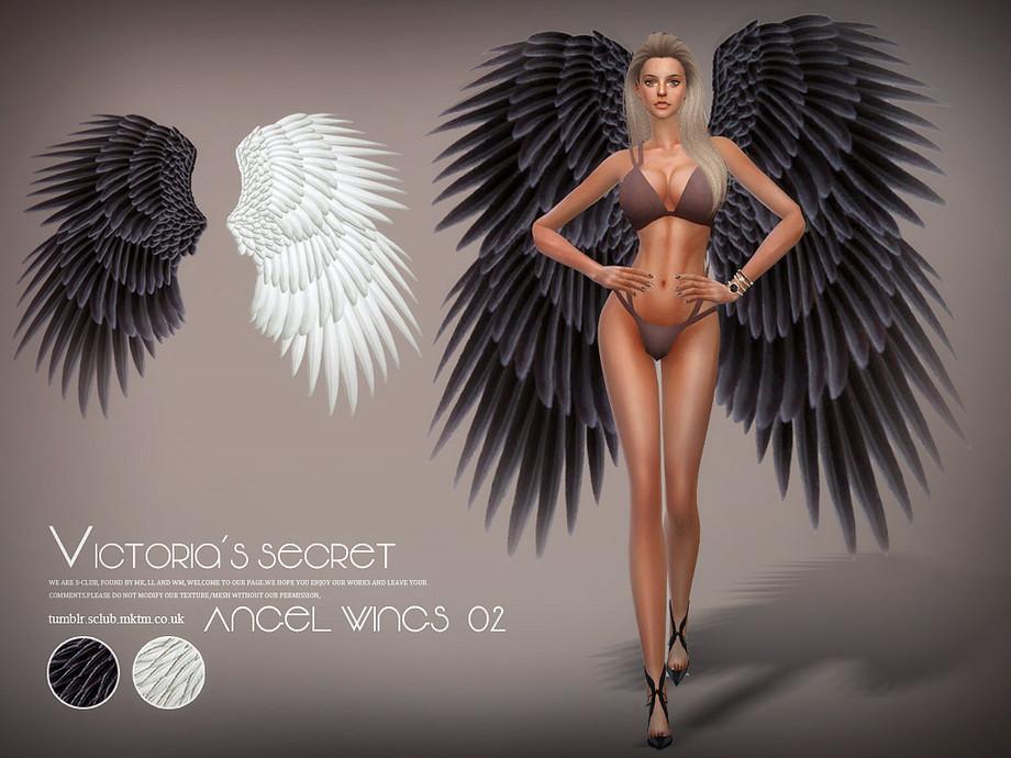 S-Club LL ts4 Angel wings 02