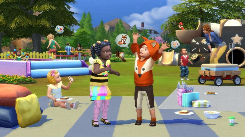 Contenido Personalizado Los Sims 4 Infantes