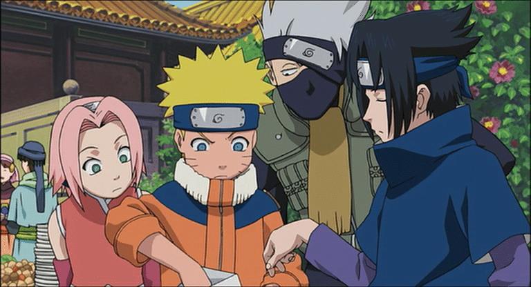 Naruto la Película El Rescate de la Princesa de la Nieve