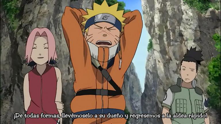 Naruto la Película Las Ruinas Ilusorias en lo Profundo de la Tierra