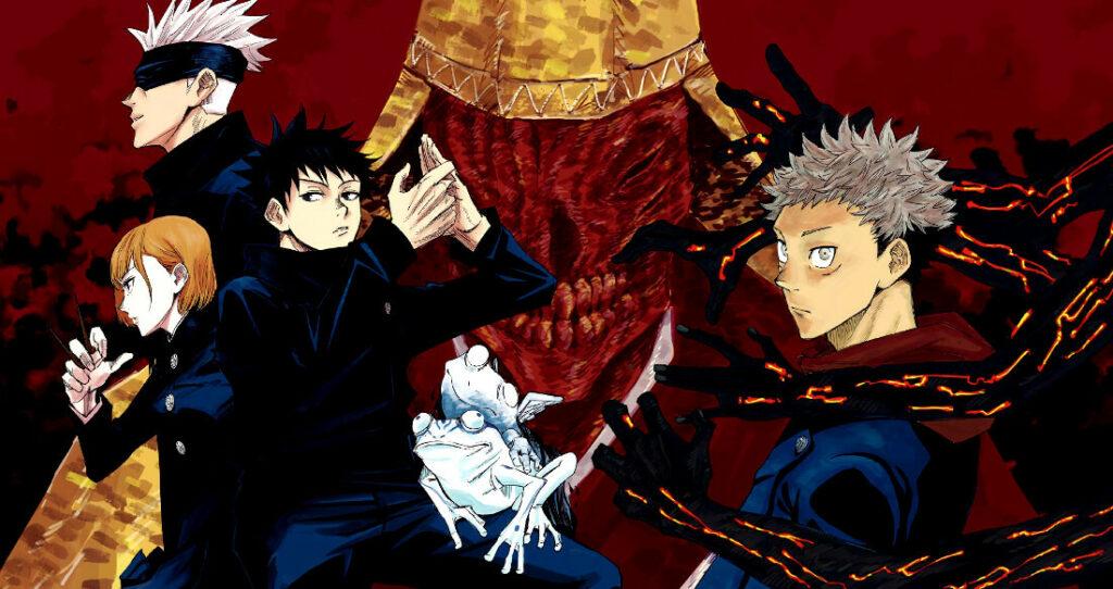JUJUTSU KAISEN fotopixel lista de animes recomendados