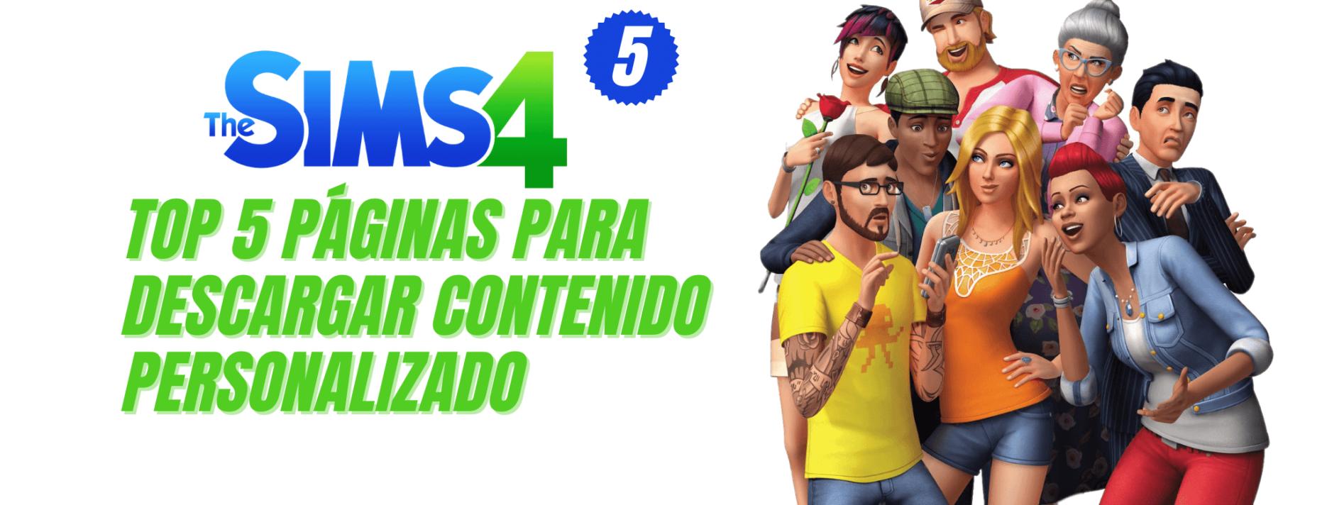 Top 5 páginas para descargar CC Los Sims 4 Parte 5 fotopixel